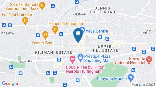 Skyhorse Apartments Map