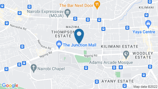 Travelers Oasis - Hostel Map