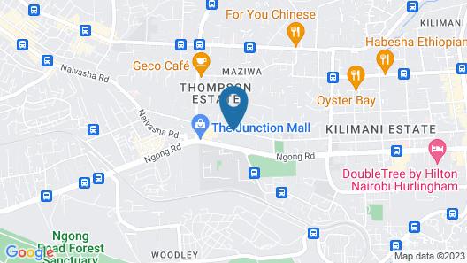 Honass Riara Apartment Map