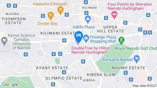 DoubleTree by Hilton Nairobi Hurlingham Map