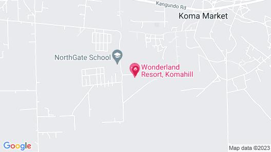 Wonderland Resort Map