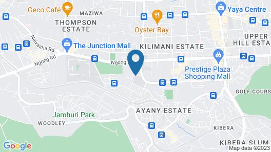 Harlequin Suites Hotel Map
