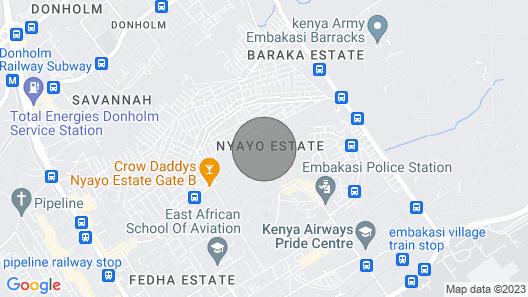 Aden Apartment, Off Johari Avenue,Nyayo Estate, Embakasi, Nairobi Map