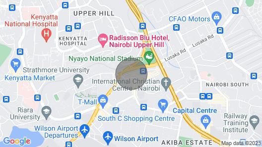 THE Loft~nairobi Comfy Serviced Apartment Map