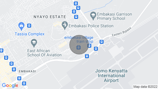 Cosy and  spacious 3 Bedrooms apartment near JKIA Airport. Map