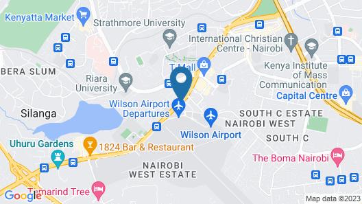 Weston Hotel Map
