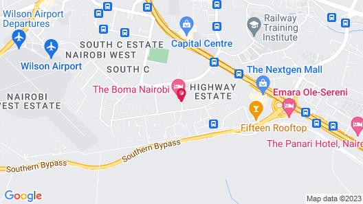 The Boma Nairobi Map