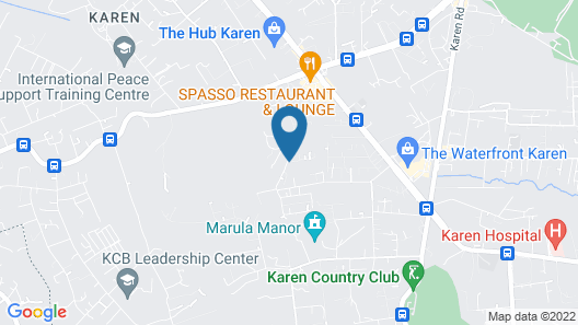 Entim Sidai Wellness Sanctuary Map
