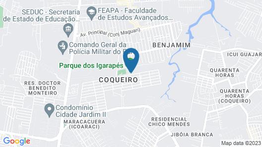 Parque Dos Igarapés Map