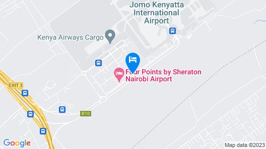 Four Points By Sheraton Nairobi Airport Map