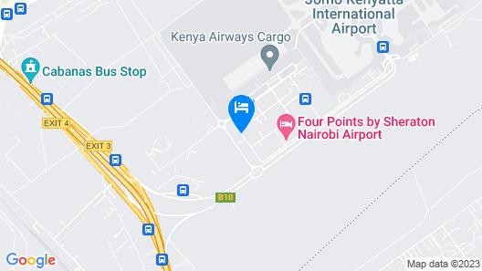 Crowne Plaza Nairobi Airport Map