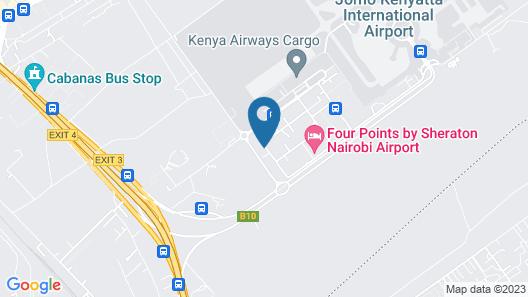 Crowne Plaza Nairobi Airport, an IHG Hotel Map