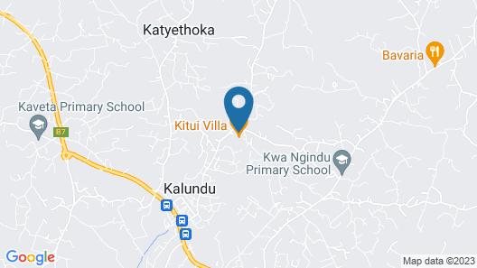 Kitui Villa Map