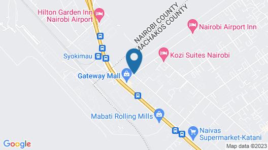 Nairobi Airport Hotel Map