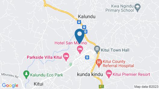 Kiembeni Resort Map