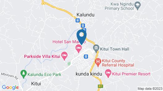 Igloos Resort Map