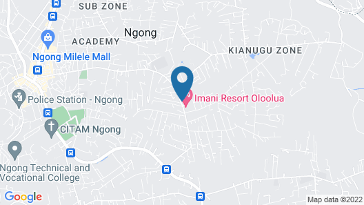 Oloolua Resort & Campground Map