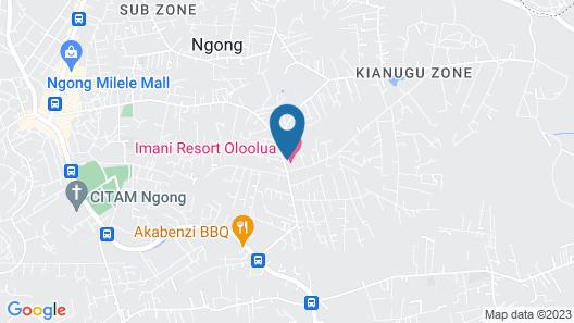 Oloolua Resort & Spa Map
