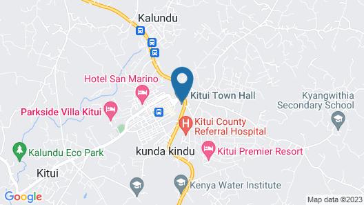 KITUI PREMIER RESORT Map