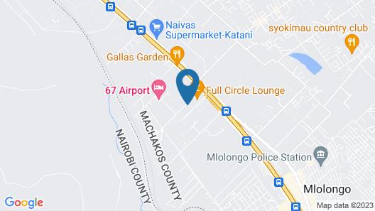 NAIROBI SIMBA YOUTH HOSTELS Map