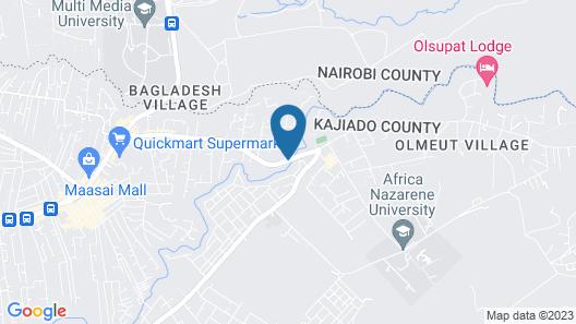 Osoita Lodge Map