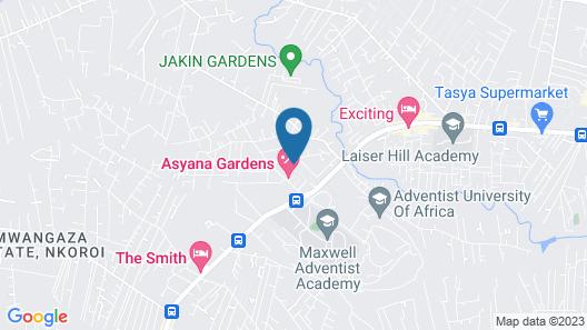 Asyana Gardens Map