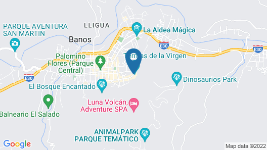 Sangay Spa Hotel Map