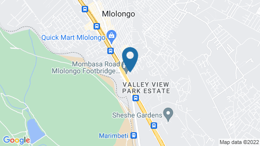 The Fontage Hotel Map