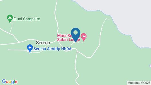 Mara Serena Safari Lodge Map