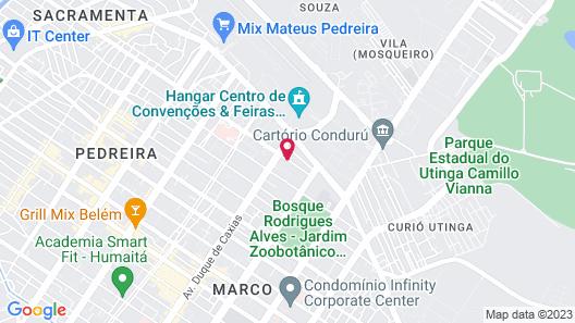 Rede Andrade Hangar Map
