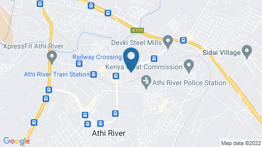 67 Athi Hotel Map