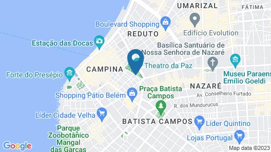 Hotel Princesa Louçã Map