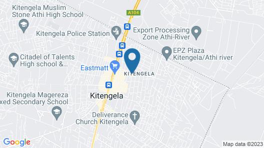 Galaxy Resort & Lounge Kitengela Map