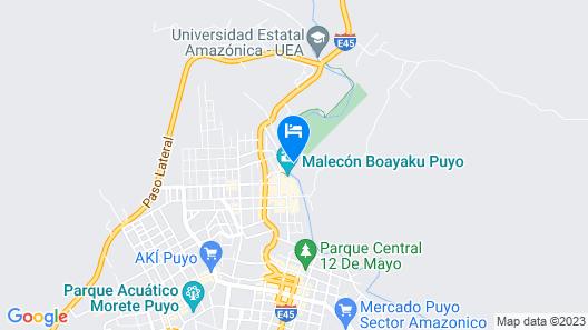 Hosteria Flor de Canela Map
