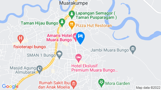 OYO 1582 Bungo Guest House Map