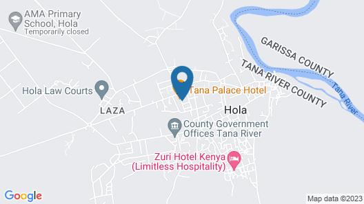 Tana Palace Hotel Map