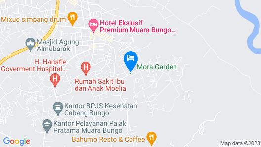 RedDoorz Syariah @ Mora Garden Bungo Map