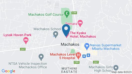 Kyaka Hotel Map