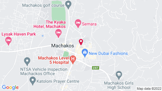 Gelian Hotel Machakos Map