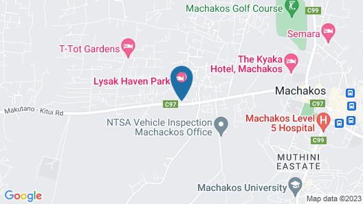 Lysak Haven Park Hotel Map