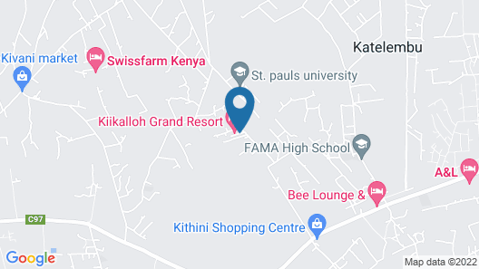 Kiikaloh Grand Resort Map
