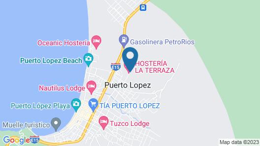 Hostería La Terraza Map