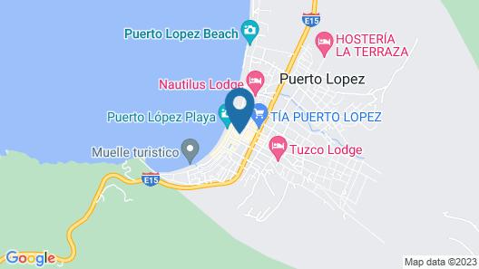 Hotel Ancora Map