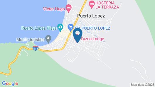 Tuzco Lodge Map