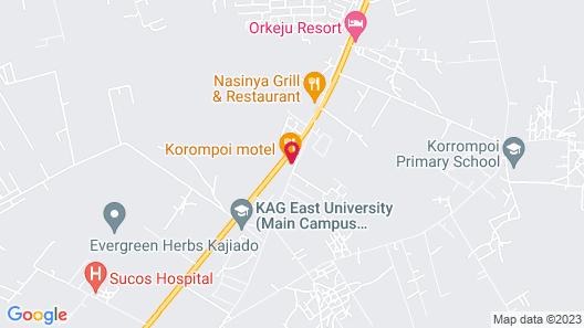 Korompoi Motel Map