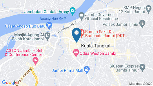 Grand Malioboro Hotel Map