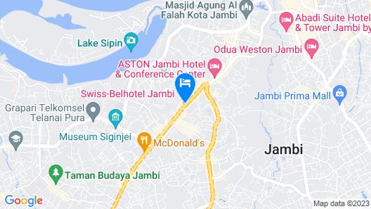 Swiss-Belhotel Jambi Map