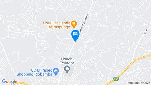 Hacienda Abraspungo Map