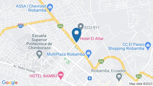 HOTEL EL ALTAR Map