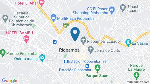 Hotel Chimborazo Internacional C.A. Map